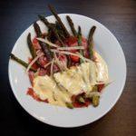 Rezept Spargel mit Serrano-Schinken und Hollandaise