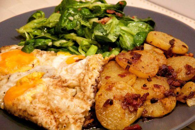 Bratkartoffeln mal anders – Low Carb