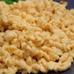 Low Carb Spätzle ohne mehl und glutenfrei