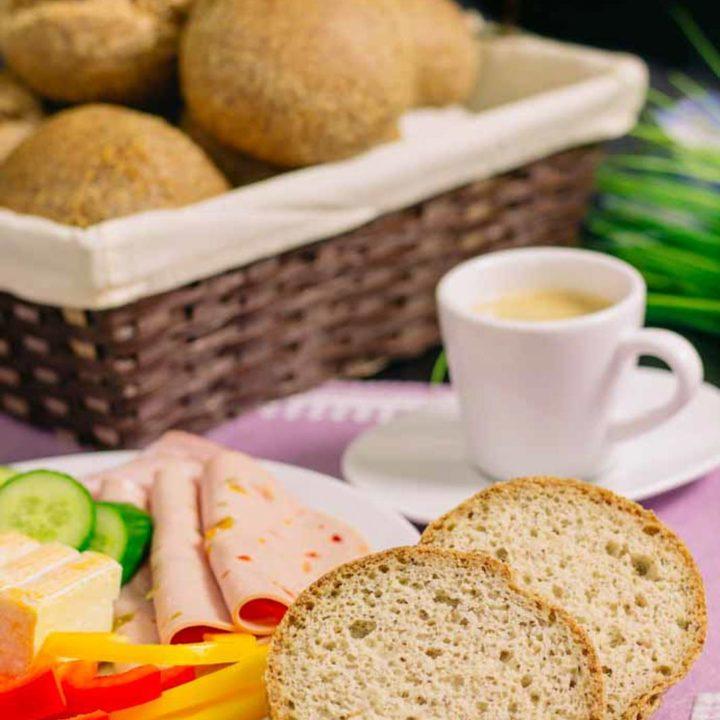 Ketobrötchen ohne Mehl und glutenfrei backen Low Carb Semmeln