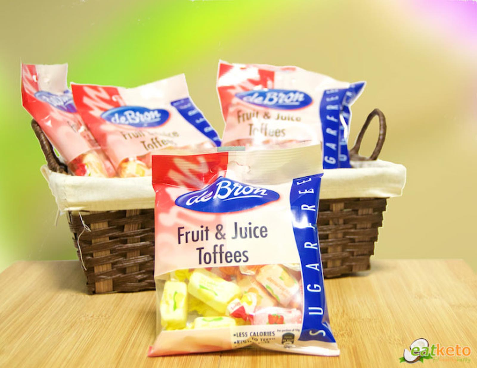 Produkttest: de Bron Fruit & Juice Toffees – von eatketo.de