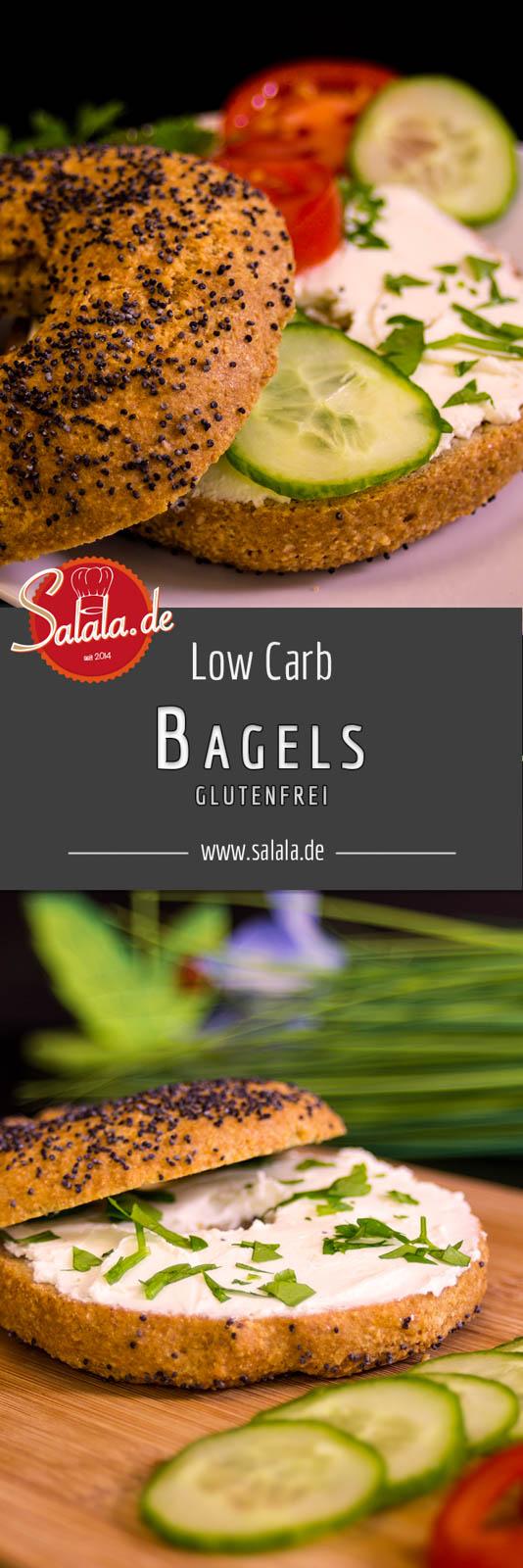 Bagels Rezept glutenfrei und Low Carb ohne Mandelmehl