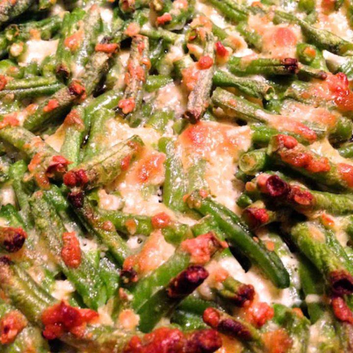 Parmesanbohnen 1