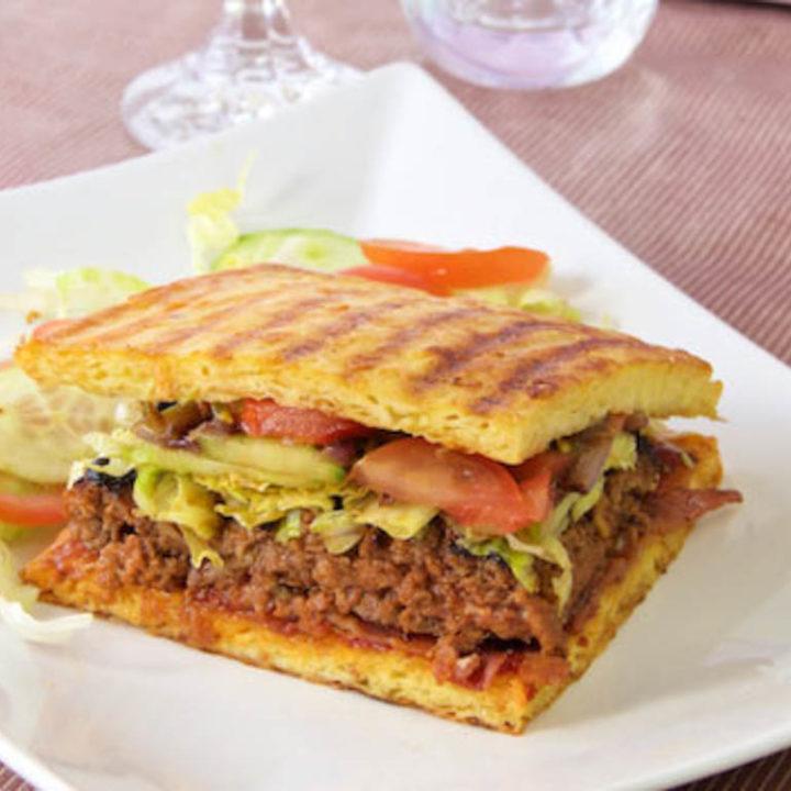 Käse Sandwich Burger 1