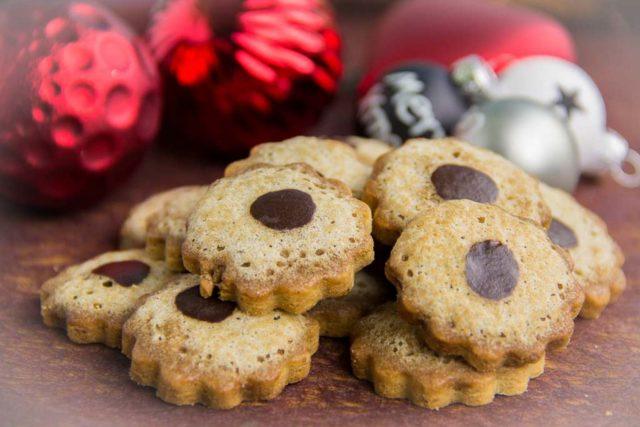 Moccaplätzchen – Low Carb Weihnachtsbäckerei