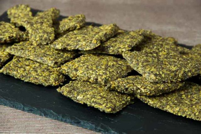 Knaeckebrot low carb glutenfrei vegan
