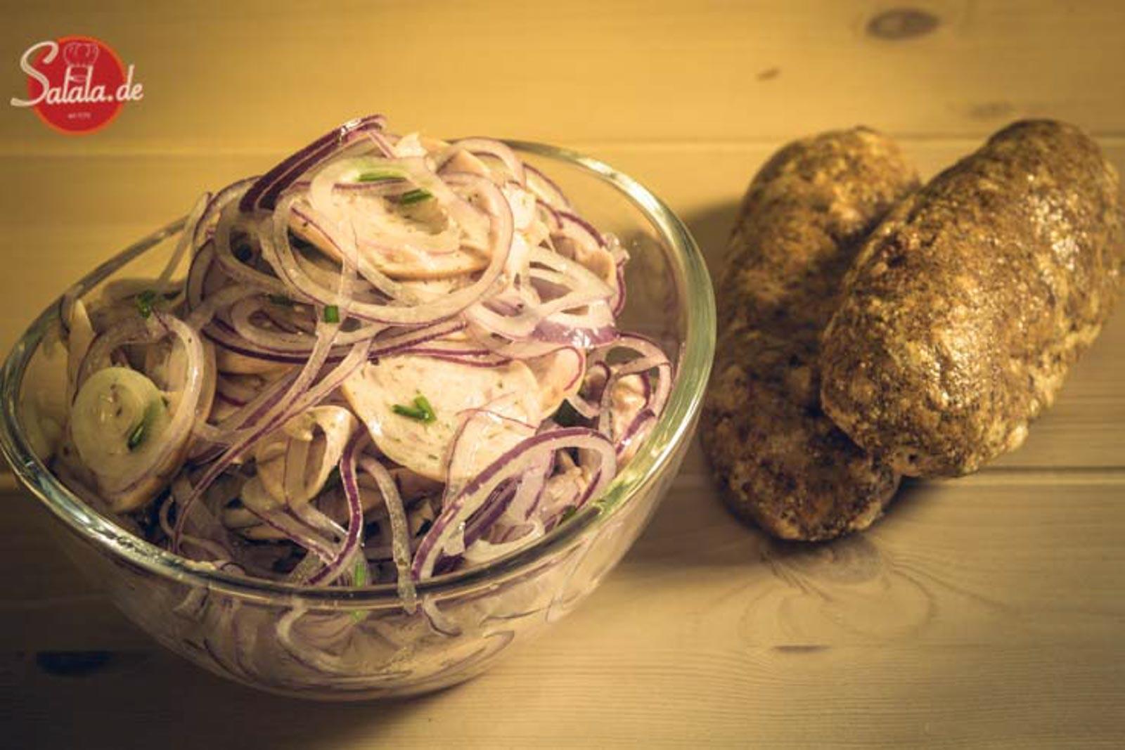 Wurstsalat echt bayrisch low carb glutenfrei