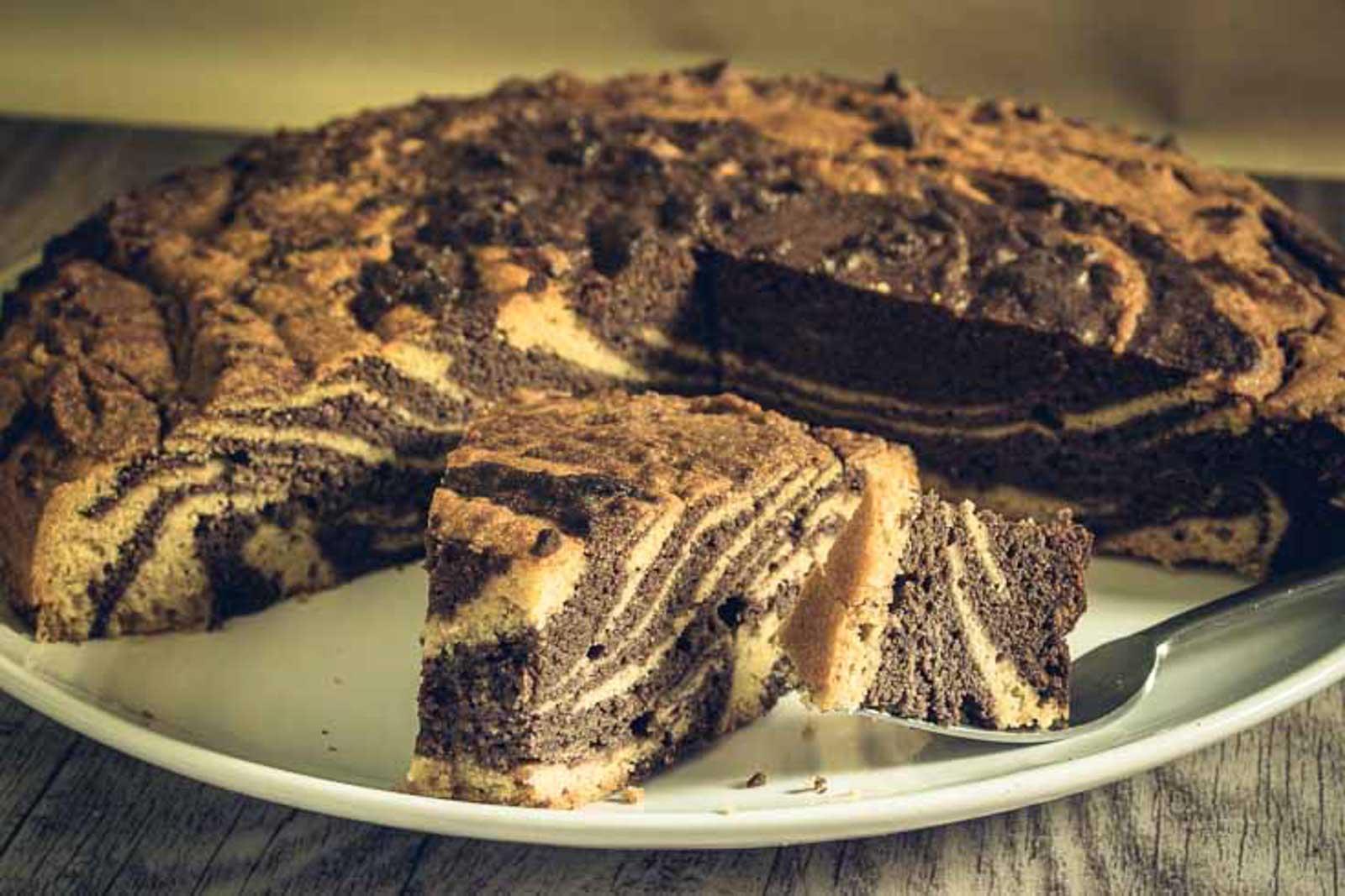 Zebrakuchen Low Carb Und Glutenfrei Salala De Low Carb Mit