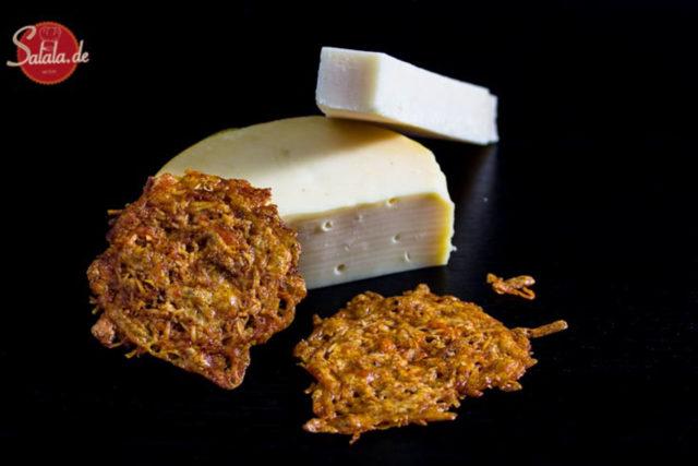 Käsechips / Käsecracker – Low Carb glutenfrei
