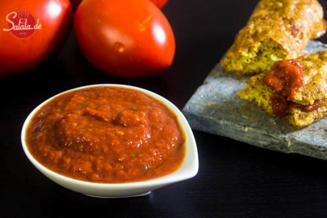 Tomaten Dip Low Carb – schnell und einfach