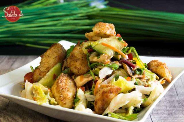 Salala Style Salad oder einfach großer Salat – Low Carb