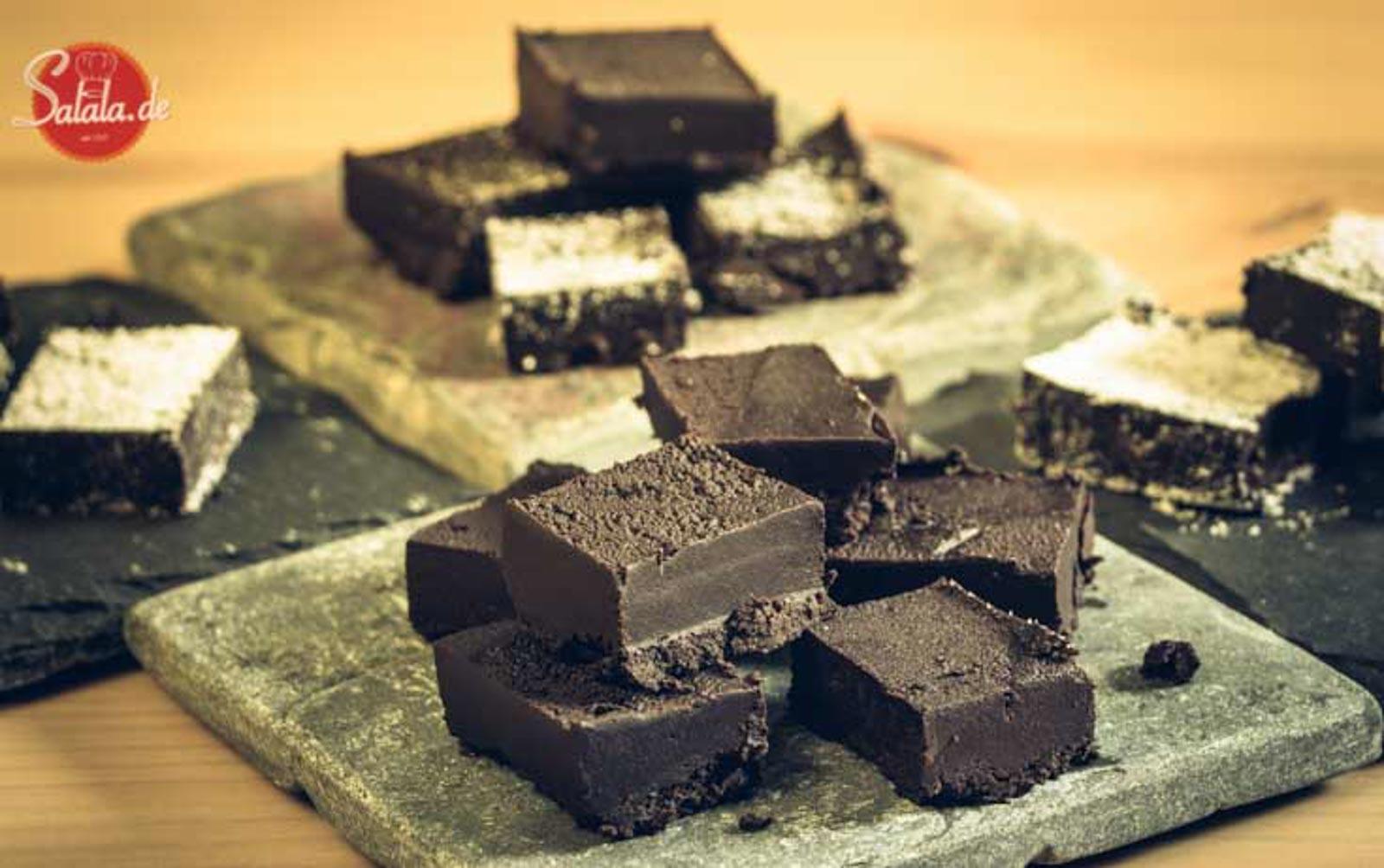 Schokostueckchen zuckerfrei Low Carb glutenfrei