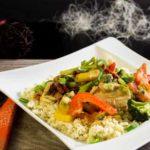 Kokos Hähnchen Curry Low Carb Hauptgericht glutenfrei