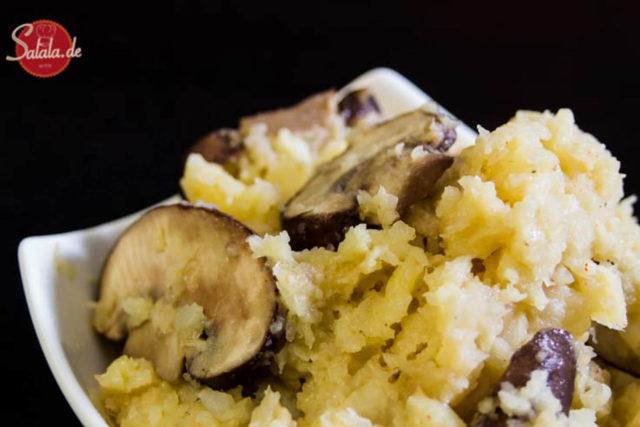 Sellerie-Risotto – low carb, glutenfrei und fast vegan