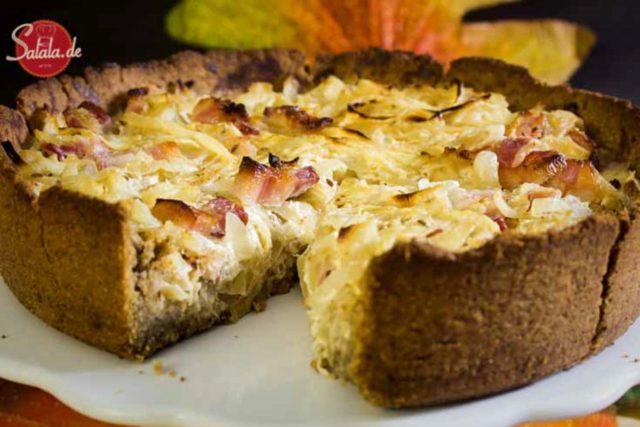 Zwiebelkuchen – low carb und glutenfrei