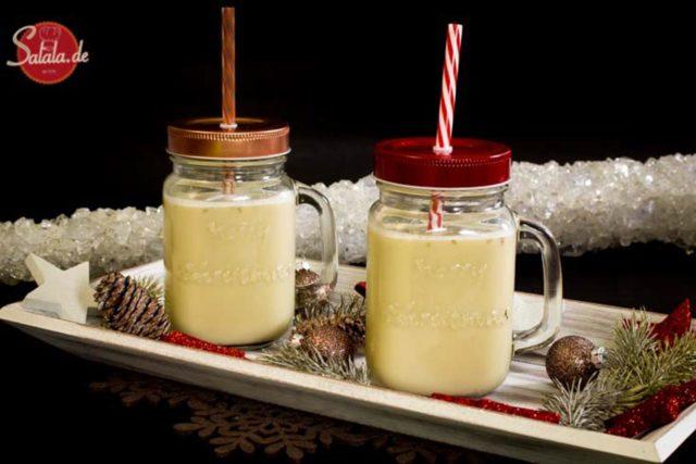 Mandel-Eggnog – Low Carb Rezept zu Weihnachten
