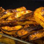 Kürbispommes Low Carb kochen glutenfrei salala.de
