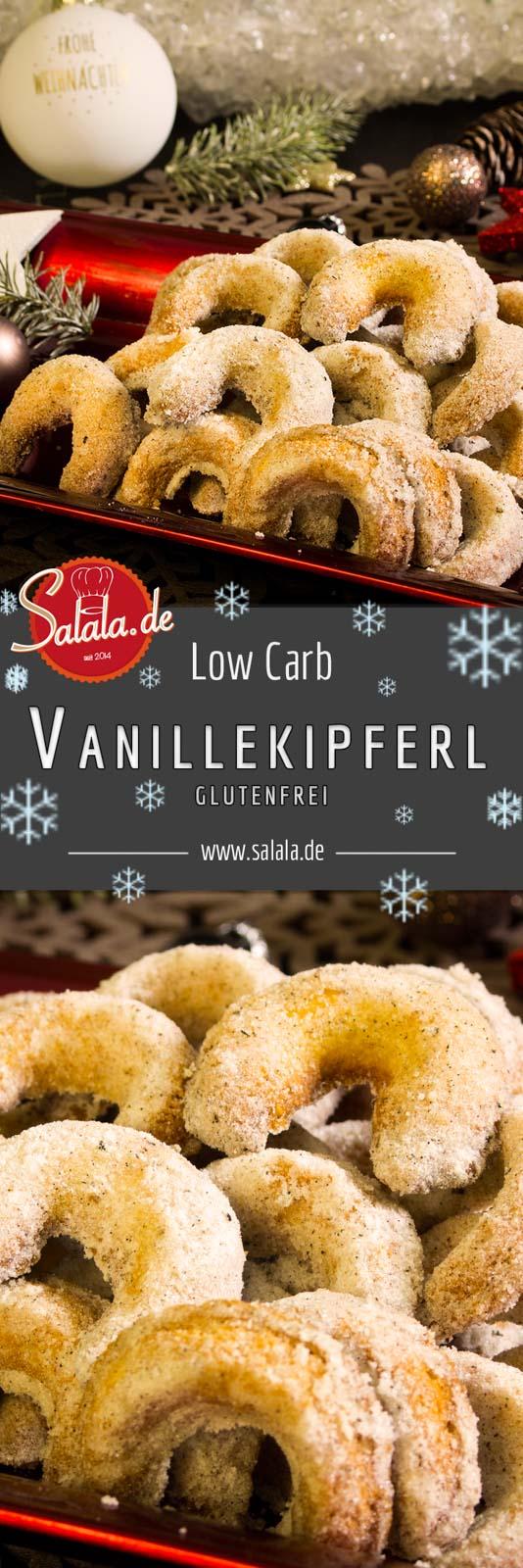 Vanillekipferl mag jeder. Wir haben das perfekt Low Carb und glutenfreie Vanillekipferl Rezept für dich, das jeder mögen wird. Weihnachten kann kommen!