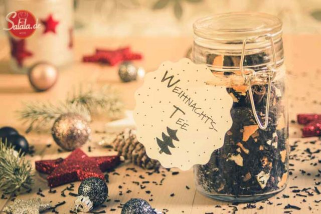 Weihnachtstee | Last Minute DIY Weihnachtsgeschenk