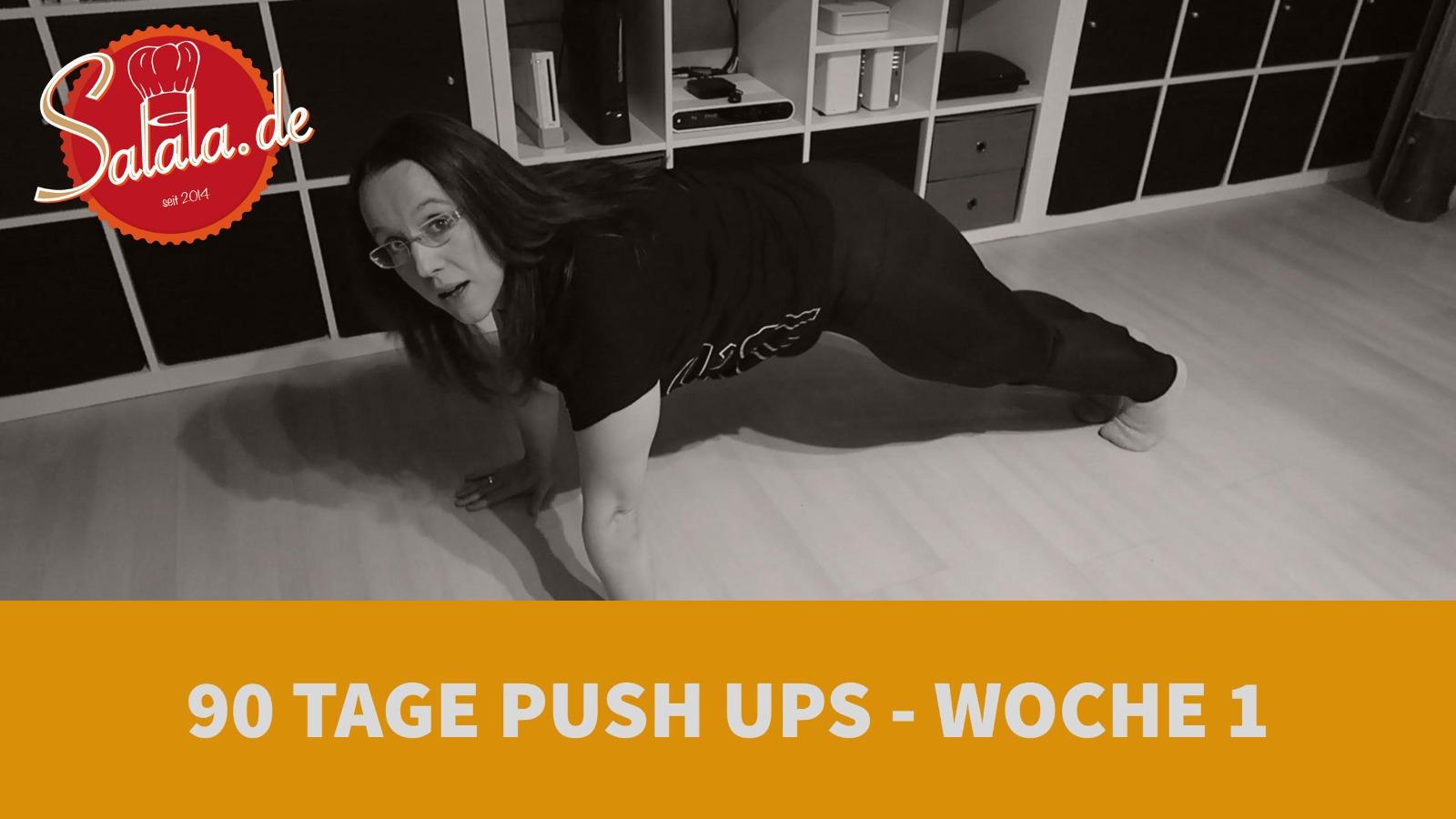90 Tage Push Up Challenge Low Carb Liegestütze salala.de