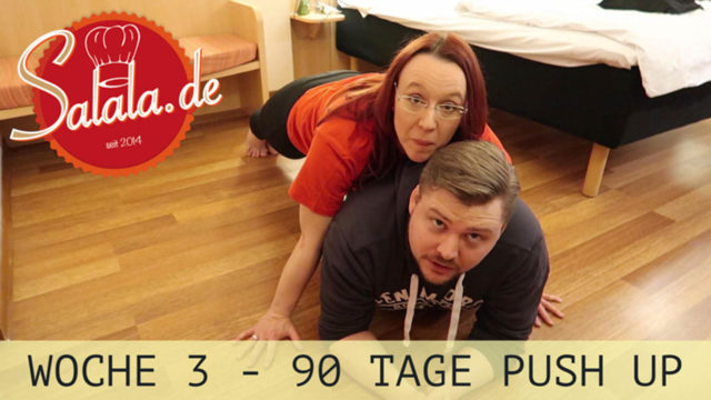 90 Tage Push Up Challenge Woche #3 – Low Carb Liegestütze