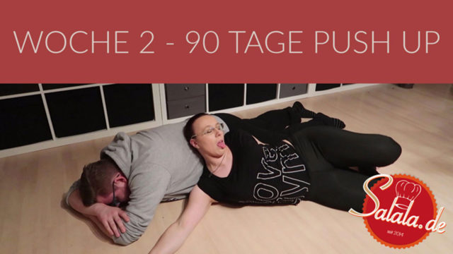 90 Tage Push Up Challenge Woche #2 – Low Carb Liegestütze