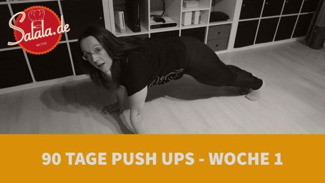 90 Tage Push Up Challenge Woche #1 - Low Carb Liegestütze