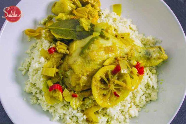 Scharfes Hühnchen burmesische Art – low carb und glutenfrei