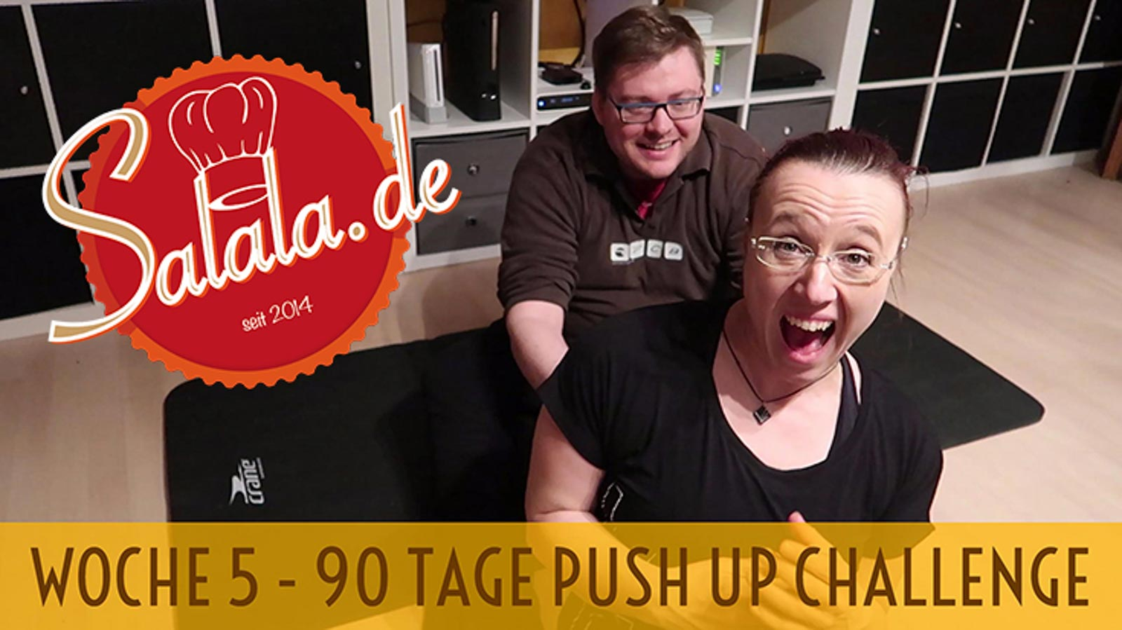 90 Tage Push Up Challenge Woche #5 – Low Carb Liegestütze
