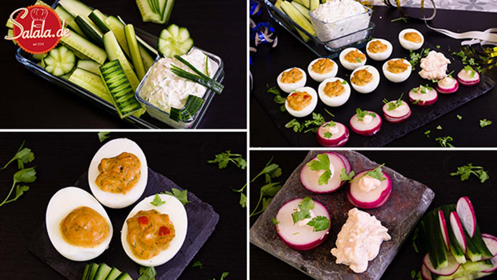 Partysnacks Fingerfood Partyfood low carb glutenfrei
