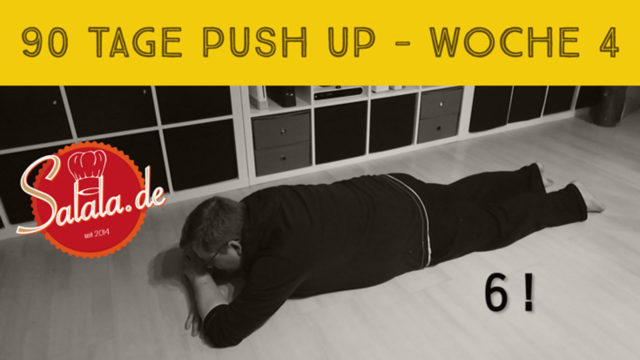 90 Tage Push Up Challenge Woche #4 – Low Carb Liegestütze