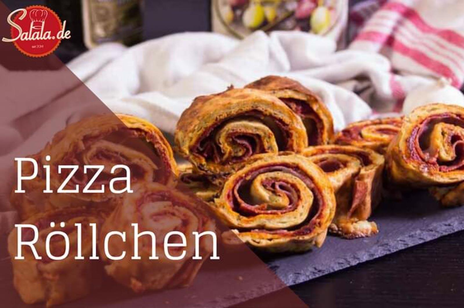 Pizza-Rolls – low carb und glutenfrei