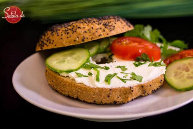 Bagels – low carb und glutenfrei