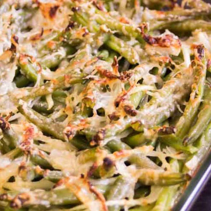 bohnen parmesan gratin low carb glutenfrei vegetarisch salala.de rezept