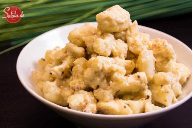 Blumenkohl Mac and Cheese