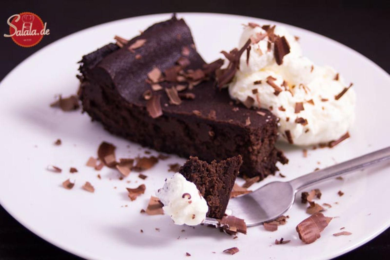 Mississippi Mudpie low carb glutenfrei Mud Cake Schokokuchen Schokoladenkuchen rezept salala.de