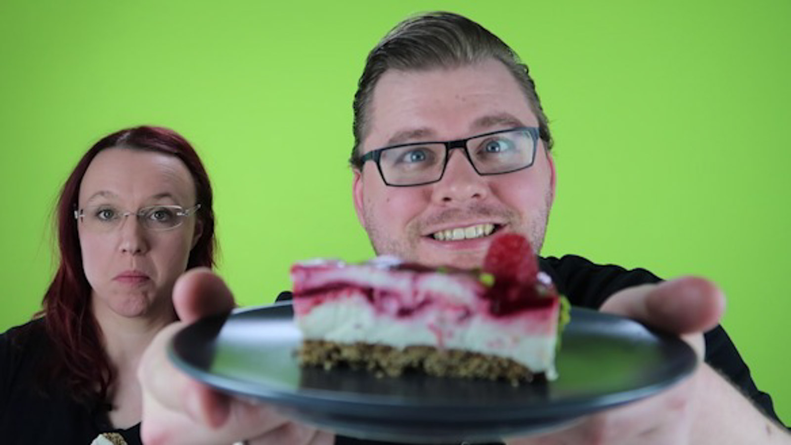 Himbeer-Quarktorte-Video