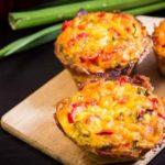 frühstücksmuffins low carb frühstück muffins eier bacon rezept salala.de