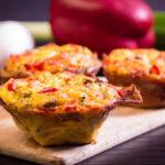 frühstücksmuffins low carb frühstück muffins eier bacon salala.de