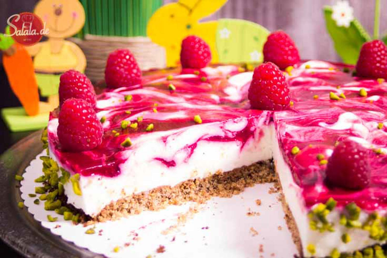 Himbeer Quarktorte Low Carb Und Glutenfrei Salala De Low Carb