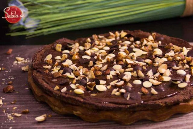 schokopizza schokoladenpizza dr. oetker nachspeise low carb glutenfrei rezept salala.de