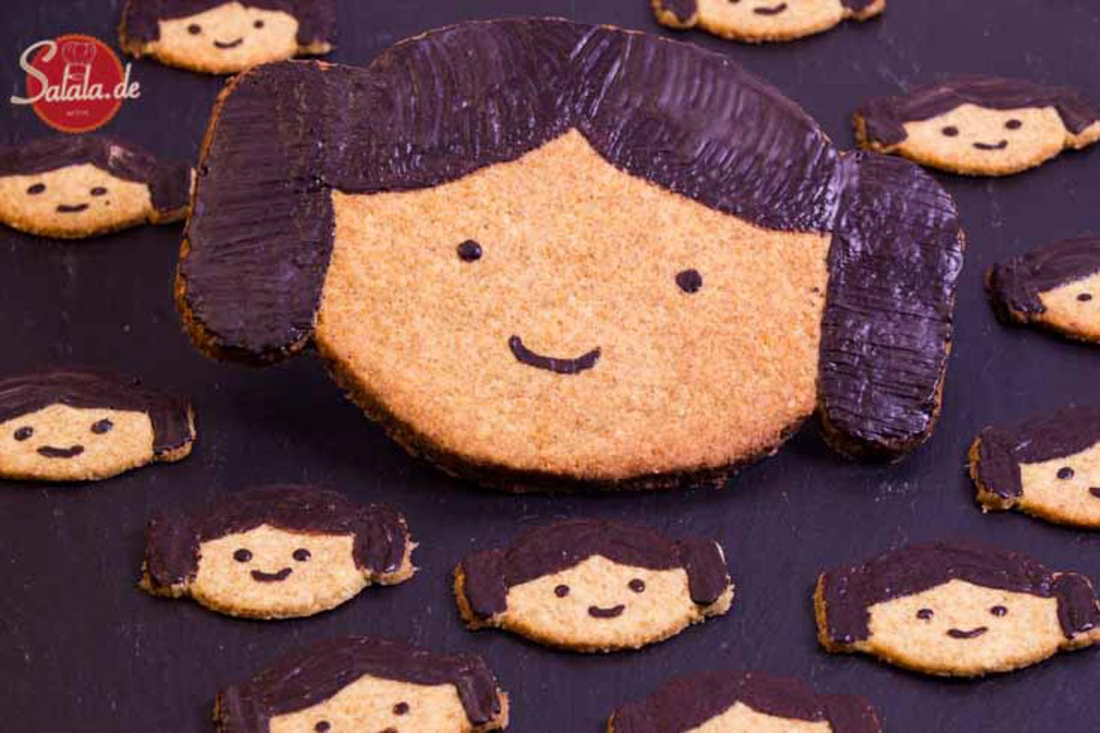 Leia Cookies Rezept – May the force be with you