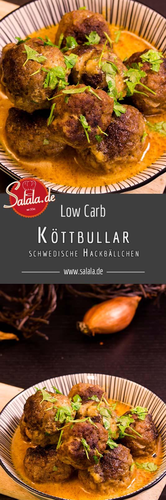 Schwedische Hackbällchen wie von Ikea, das sind Köttbullar. Unsere Low Carb Variante kommt sogar mit einer selbst gemachten Gewürzmischung.
