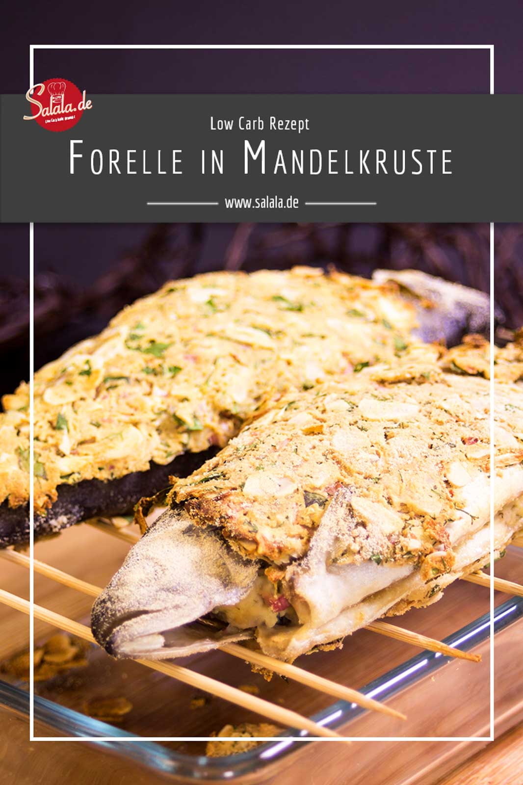 Forelle in Mandelkruste I Low Carb Rezept I Game of Thrones Special  #fischrezepte #lowcarbrezepte #gameofthrones #ketorezepte #lowcarbpanade