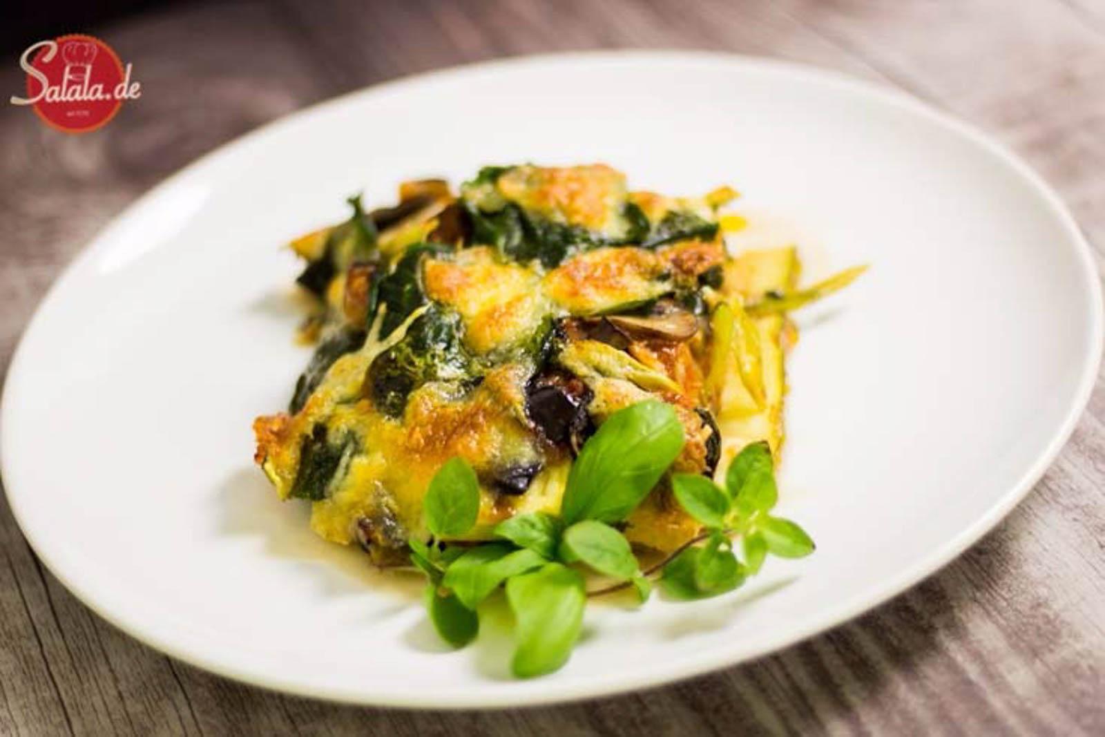 Veggie-Lasagne | low carb