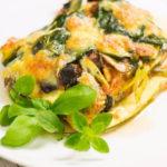 Veggie Lasagne low carb Zucchini Gemüselasagne salala.de