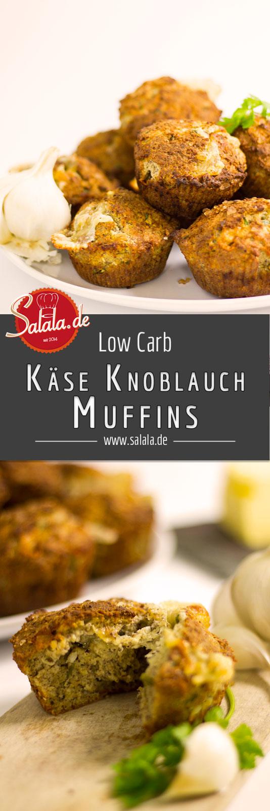 Käse Knoblauch Muffins Low Carb ohne Mehl glutenfrei selber machen - salala.de - Käse-Knoblauch-Muffins - lecker, käsig und unglaublich herzhaft. Total ungewohnt aber schön low carb und glutenfrei. Unbedingt probieren!