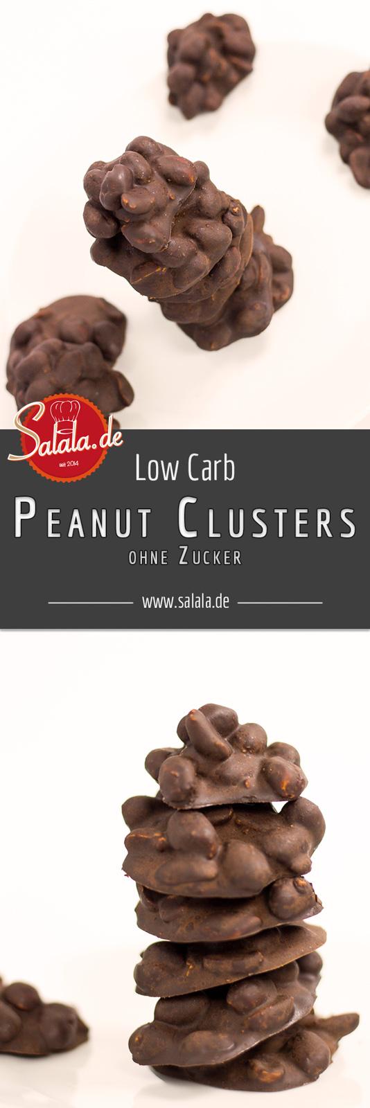 peanut clusters low carb naschen erdnussh ufchen ohne zucker low carb mit vroni nico. Black Bedroom Furniture Sets. Home Design Ideas