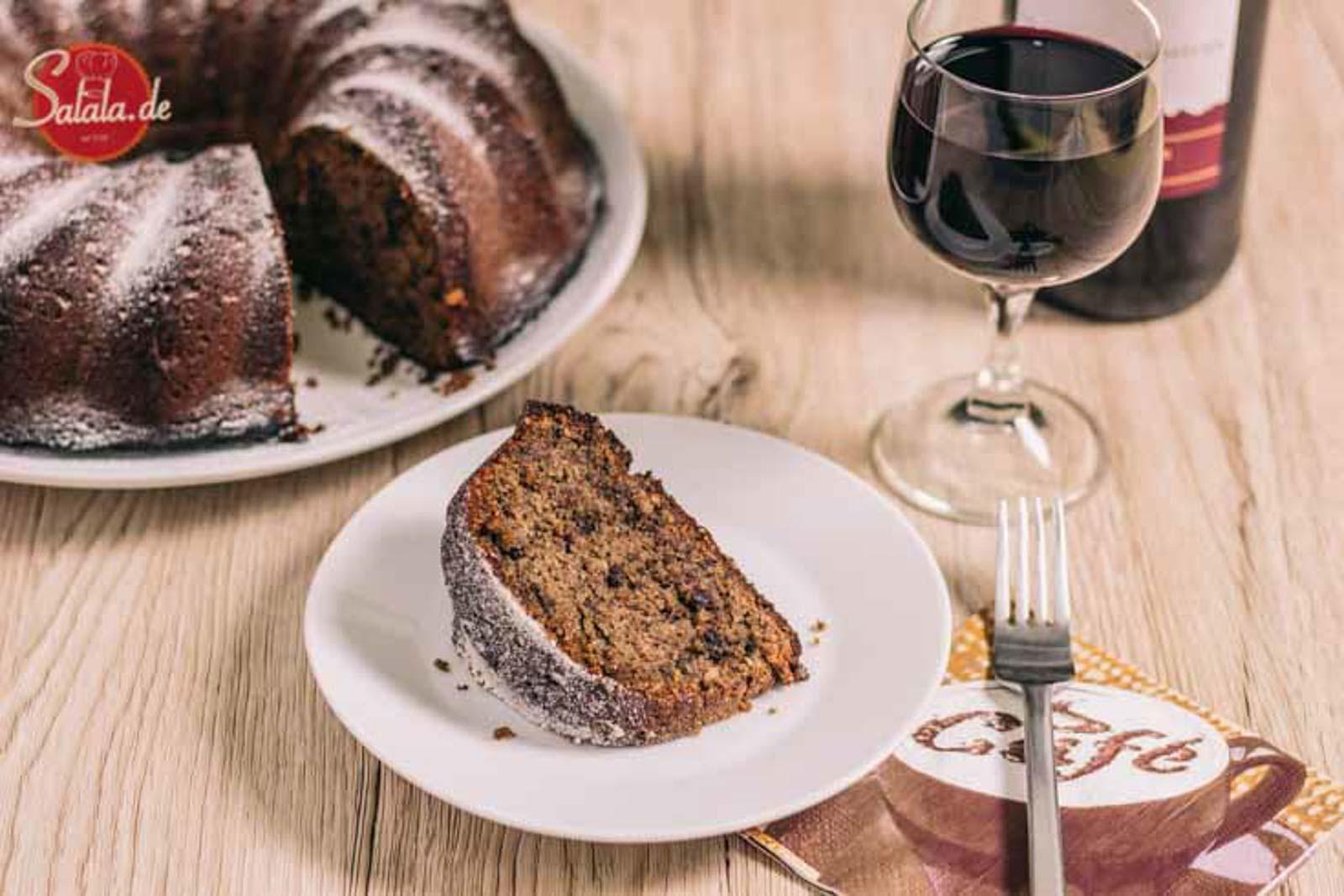 rotweinkuchen low carb ohne mehl ohne zucker glutefrei backen salala.de rezept