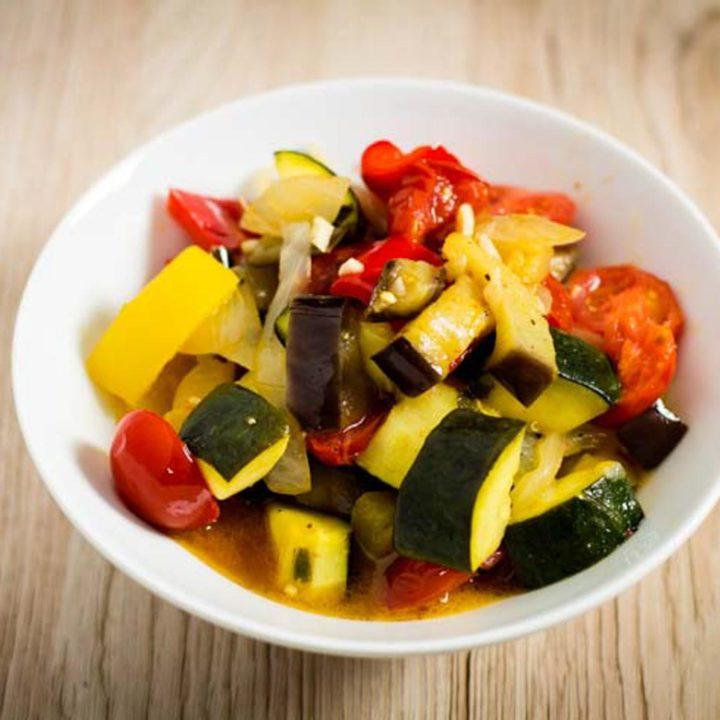 Ratatouille selbst machen low carb vegetarisch glutenfrei salala.de Rezept einfach
